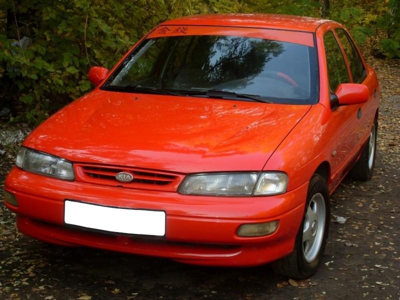Kia Sephia седан, 1995–1998, 1 поколение [рестайлинг], 1.5 MT (110 л.с.), характеристики