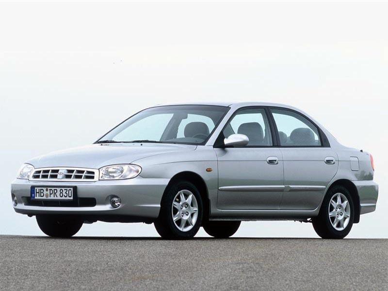 Kia Sephia седан, 1998–2004, 2 поколение [рестайлинг] - отзывы, фото и характеристики на Car.ru