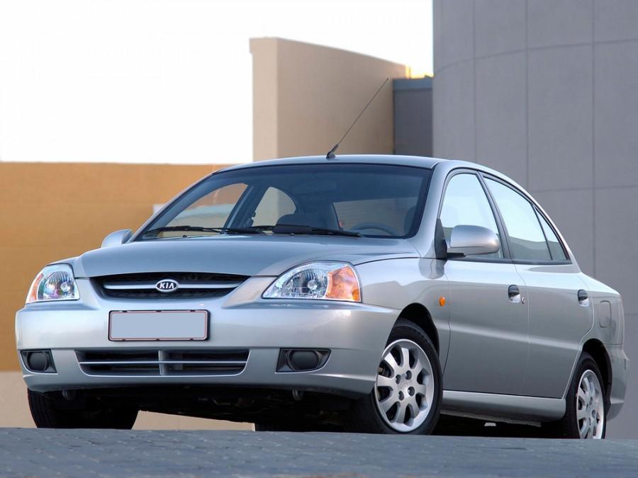 Kia Rio седан, 2002–2005, 1 поколение [рестайлинг] - отзывы, фото и характеристики на Car.ru