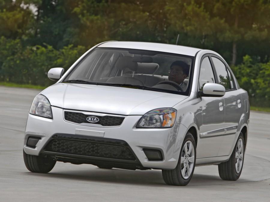 Kia Rio седан, 2009–2011, 2 поколение [рестайлинг] - отзывы, фото и характеристики на Car.ru