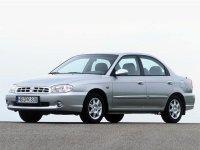Kia Sephia, 2 поколение [рестайлинг], Седан, 1998–2004