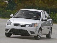 Kia Rio, 2 поколение [рестайлинг], Седан, 2009–2011