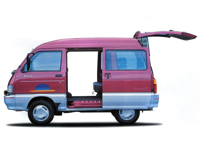 Kia Towner минивэн, 1999–2002, 1 поколение - отзывы, фото и характеристики на Car.ru