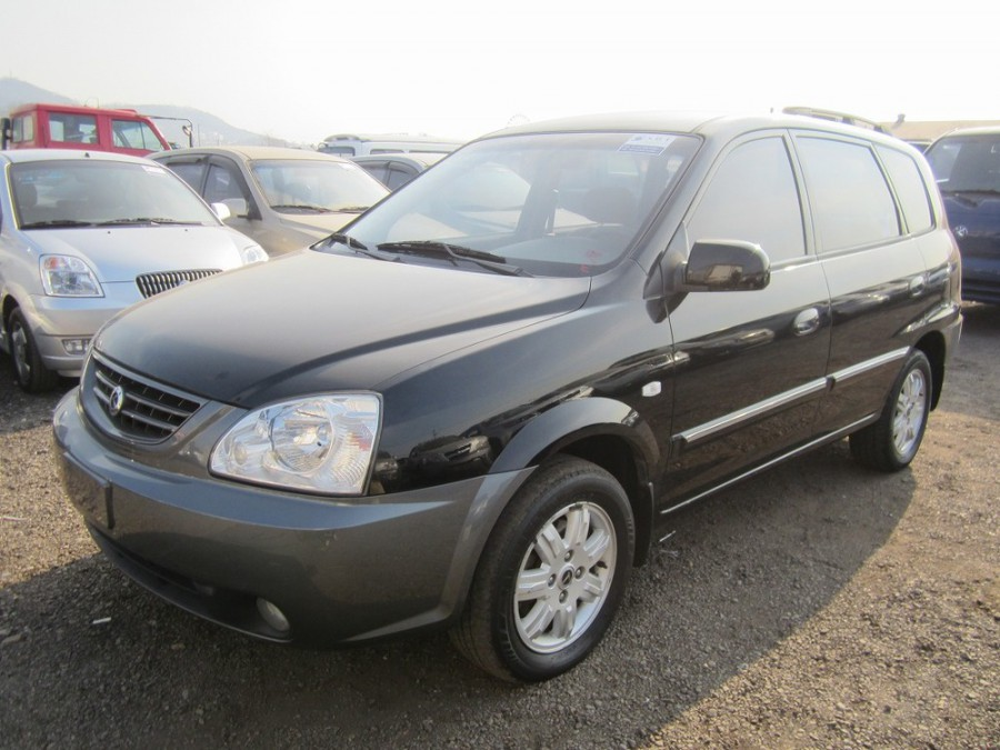 Kia X-Trek минивэн, 2003–2005, 1 поколение - отзывы, фото и характеристики на Car.ru