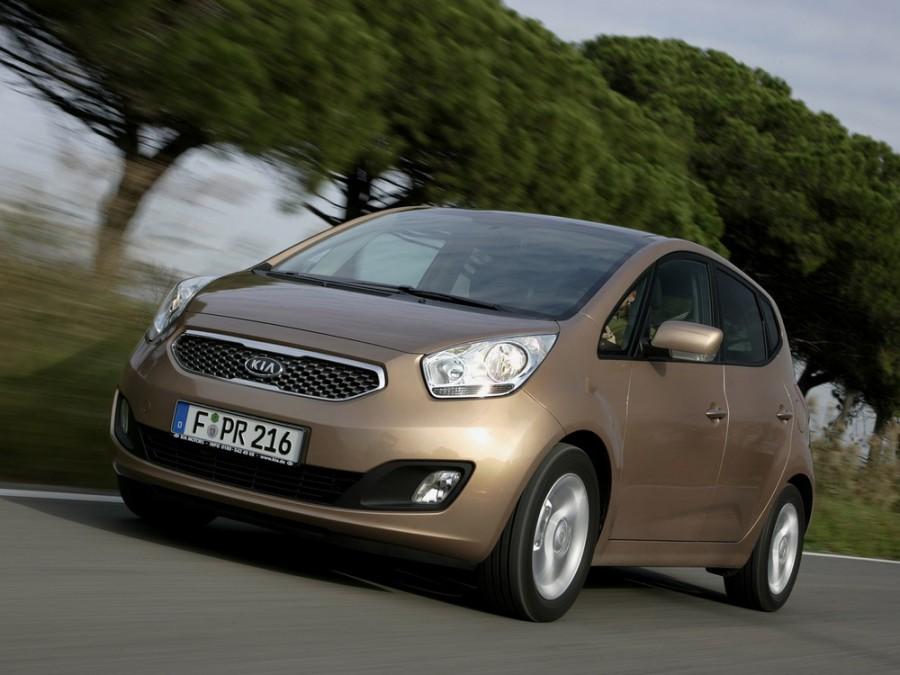 Kia Venga минивэн, 2010–2014, 1 поколение - отзывы, фото и характеристики на Car.ru