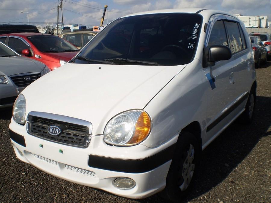 Kia Visto хетчбэк, 1999–2003, 1 поколение - отзывы, фото и характеристики на Car.ru