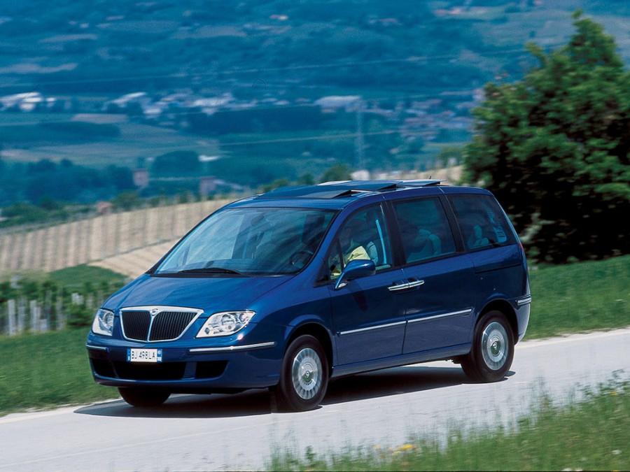 Lancia Phedra минивэн, 2002–2014, 2 поколение - отзывы, фото и характеристики на Car.ru
