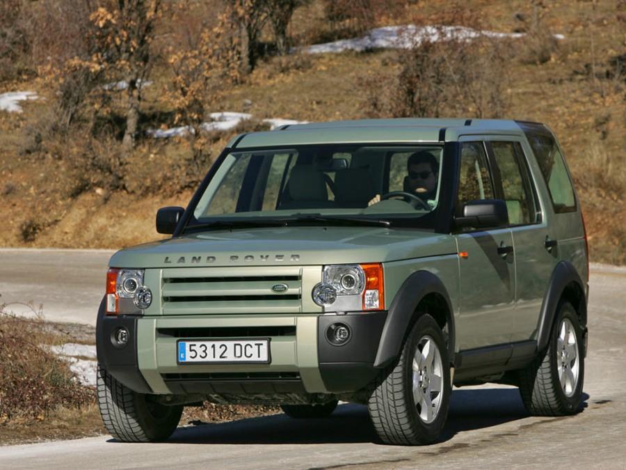 Landrover Discovery внедорожник, 2004–2009, 3 поколение - отзывы, фото и характеристики на Car.ru