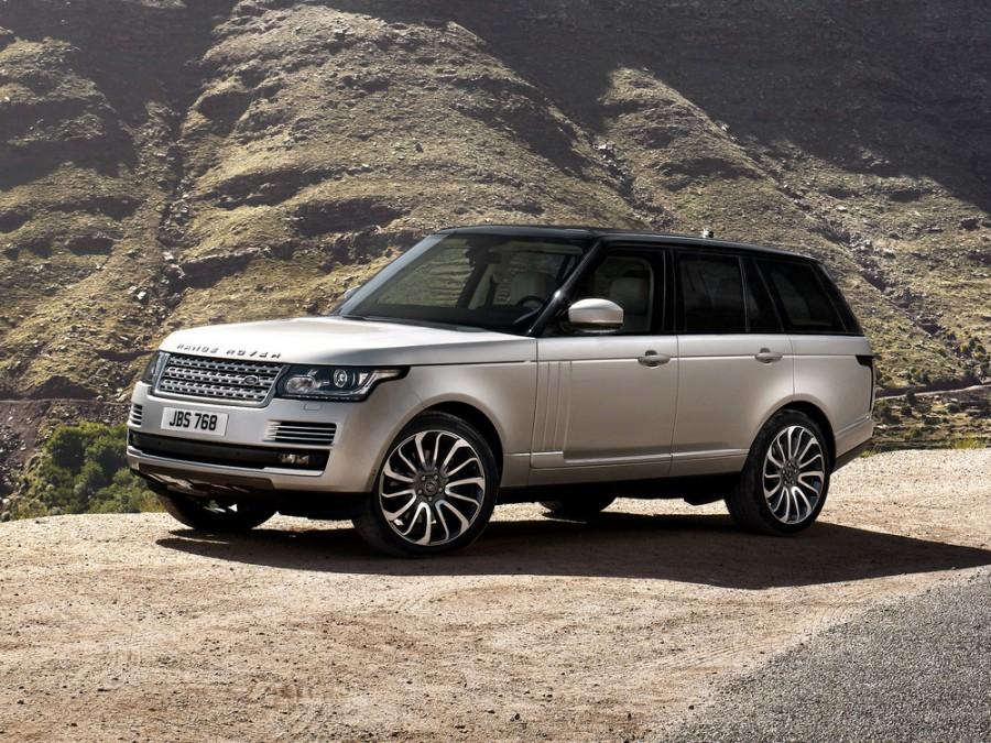 Landrover Range Rover внедорожник, 2012–2016, 4 поколение - отзывы, фото и характеристики на Car.ru