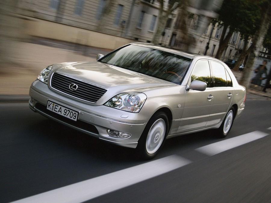 Lexus LS седан, 2000–2003, 3 поколение - отзывы, фото и характеристики на Car.ru