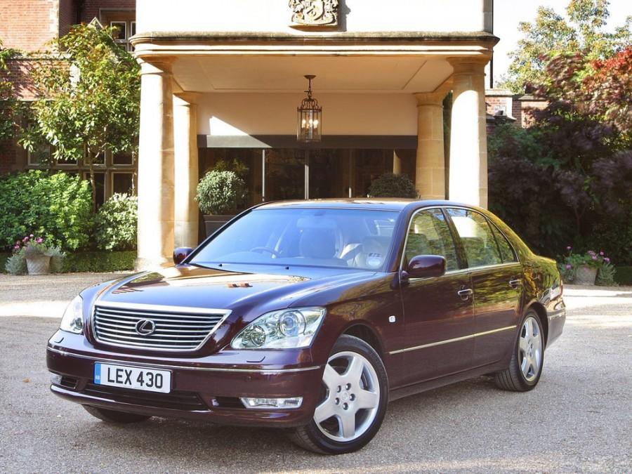 Lexus LS седан, 2000–2003, 3 поколение [рестайлинг] - отзывы, фото и характеристики на Car.ru