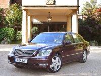 Lexus LS, 3 поколение [рестайлинг], Седан, 2000–2003