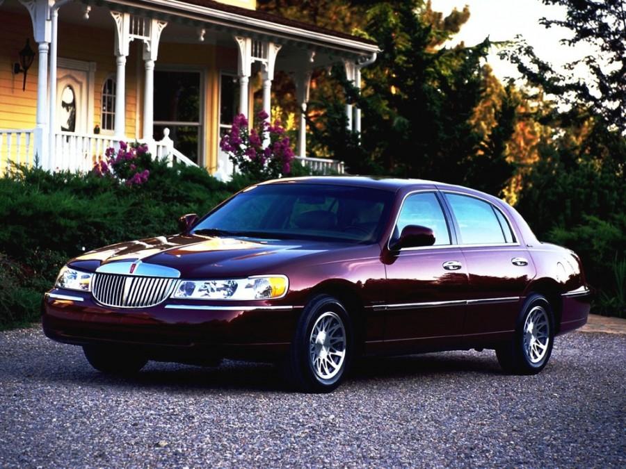 Lincoln Town car седан, 1998–2014, 3 поколение - отзывы, фото и характеристики на Car.ru