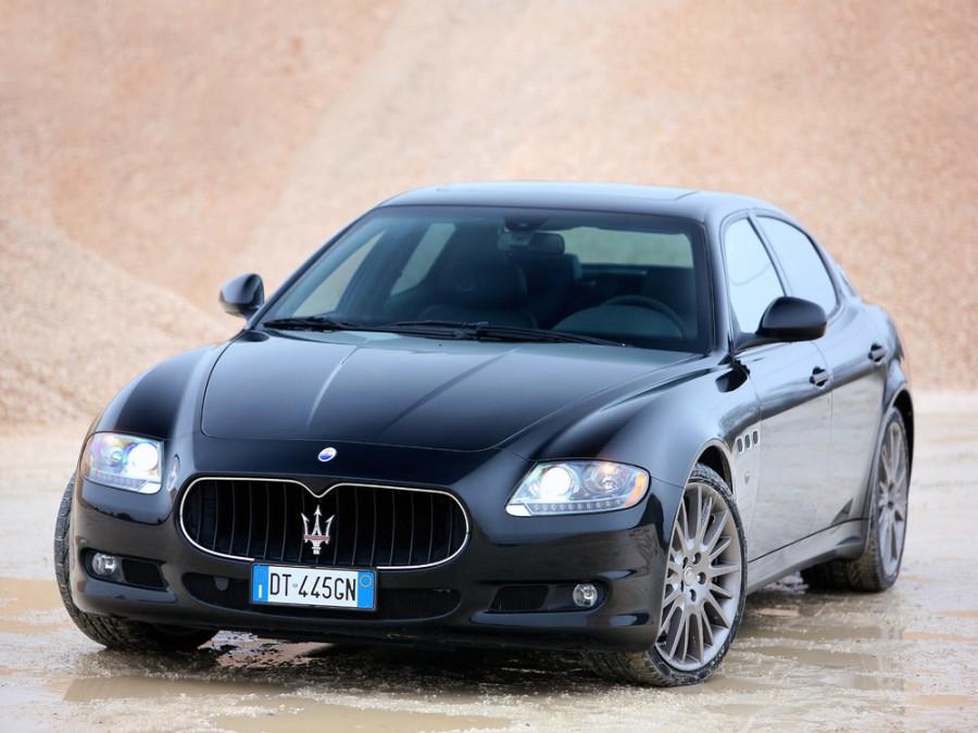 Maserati Quattroporte S седан 4-дв., 2008–2012, 5 поколение [рестайлинг] - отзывы, фото и характеристики на Car.ru