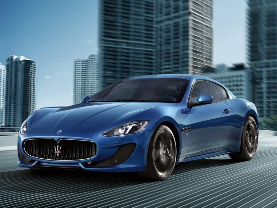 Maserati GranTurismo Sport купе 2-дв., 2007–2016, 1 поколение - отзывы, фото и характеристики на Car.ru