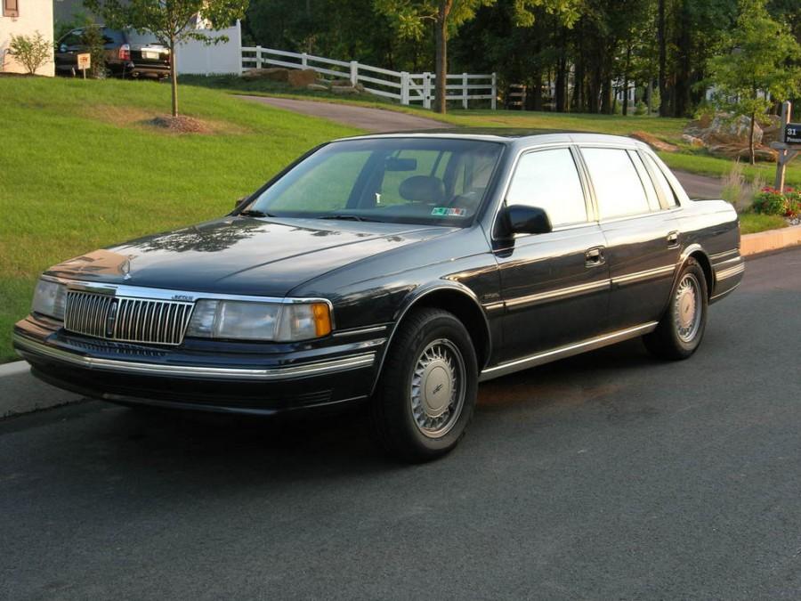 Lincoln Continental седан, 1988–1994, 8 поколение - отзывы, фото и характеристики на Car.ru
