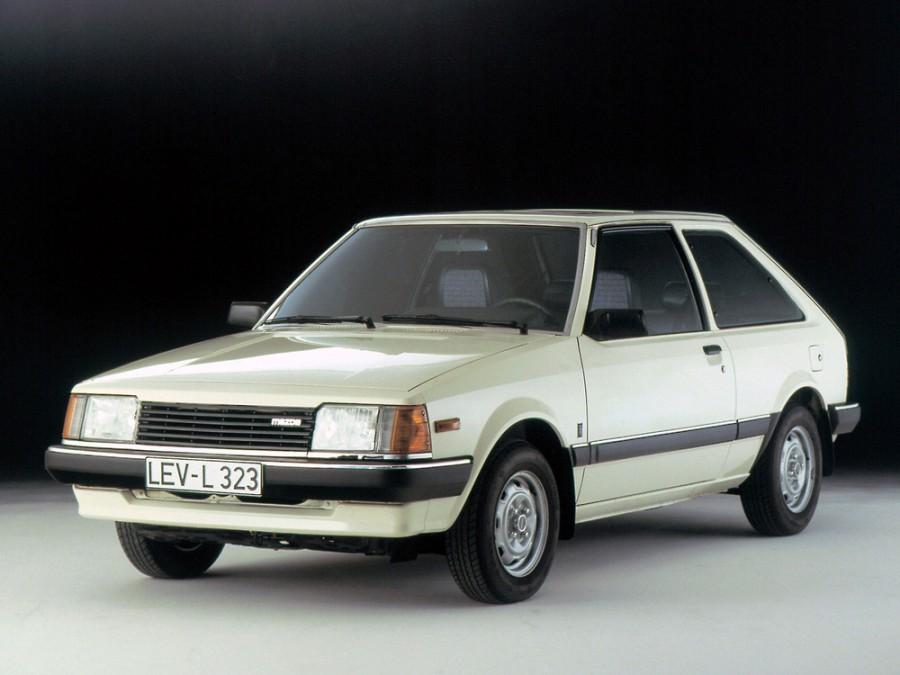 Mazda 323 хетчбэк 3-дв., 1980–1986, BD - отзывы, фото и характеристики на Car.ru
