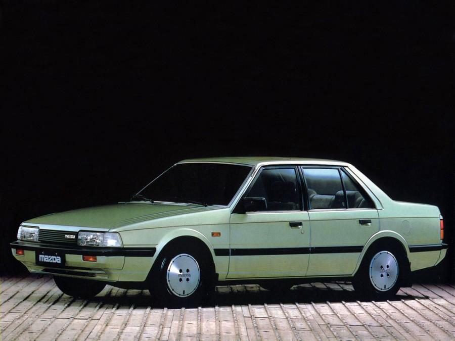 Mazda 626 седан, 1982–1987, 2 поколение - отзывы, фото и характеристики на Car.ru