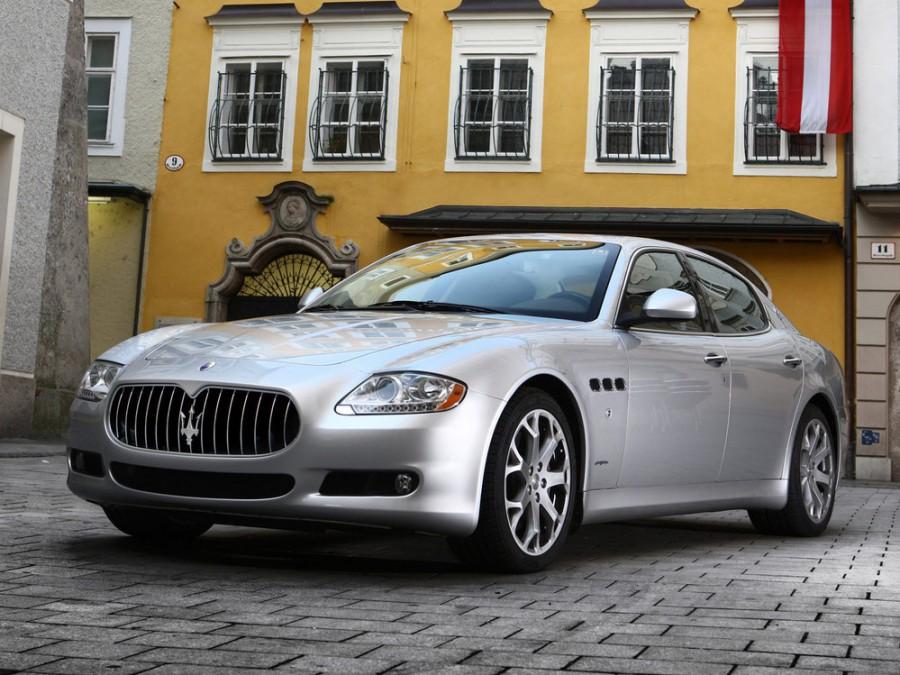 Maserati Quattroporte седан 4-дв., 2008–2012, 5 поколение [рестайлинг] - отзывы, фото и характеристики на Car.ru