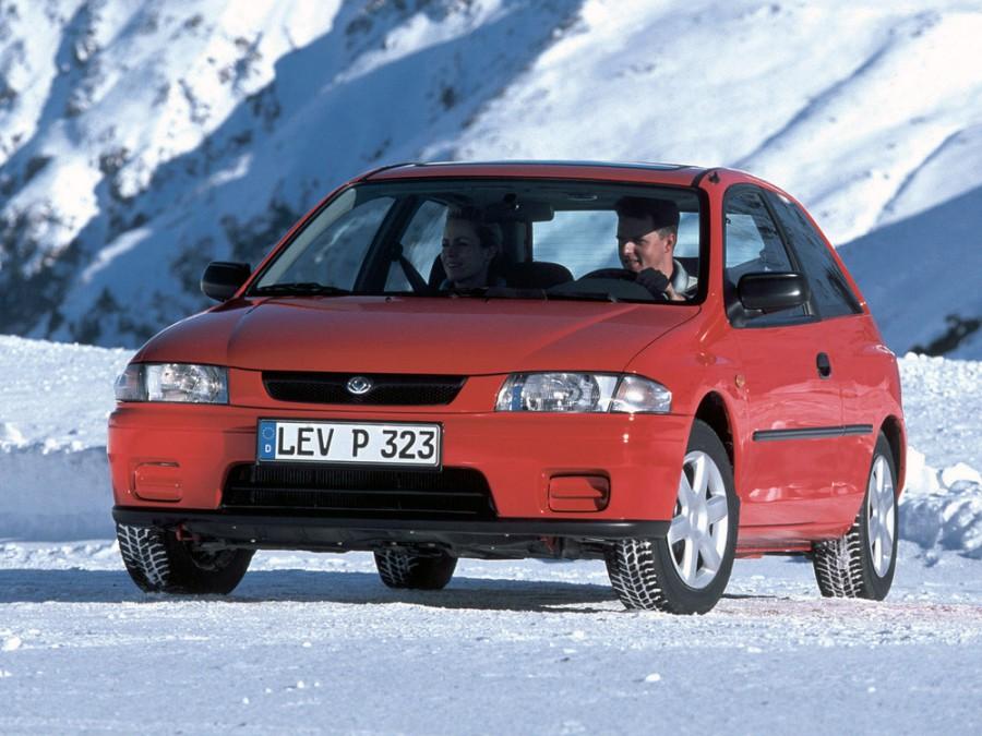 Mazda 323 хетчбэк, 1996–2016, BA [рестайлинг] - отзывы, фото и характеристики на Car.ru