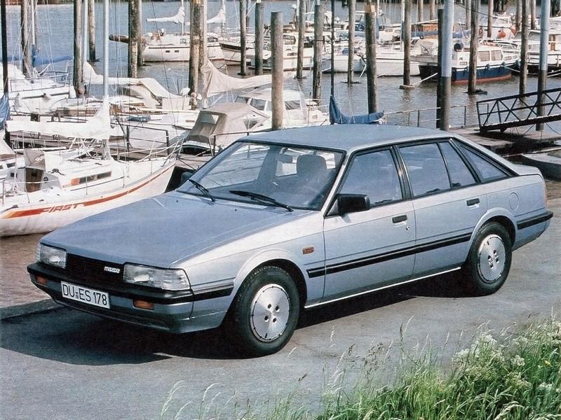 Mazda 626 хетчбэк, 1982–1987, 2 поколение - отзывы, фото и характеристики на Car.ru