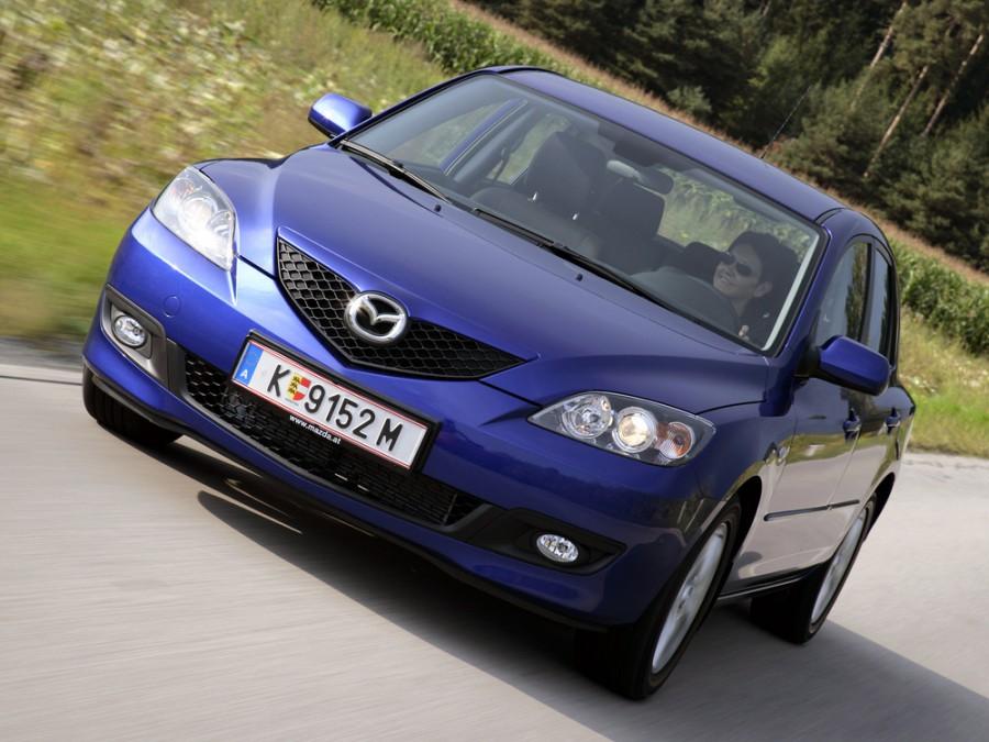 Mazda 3 хетчбэк, 2006–2016, BK [рестайлинг] - отзывы, фото и характеристики на Car.ru