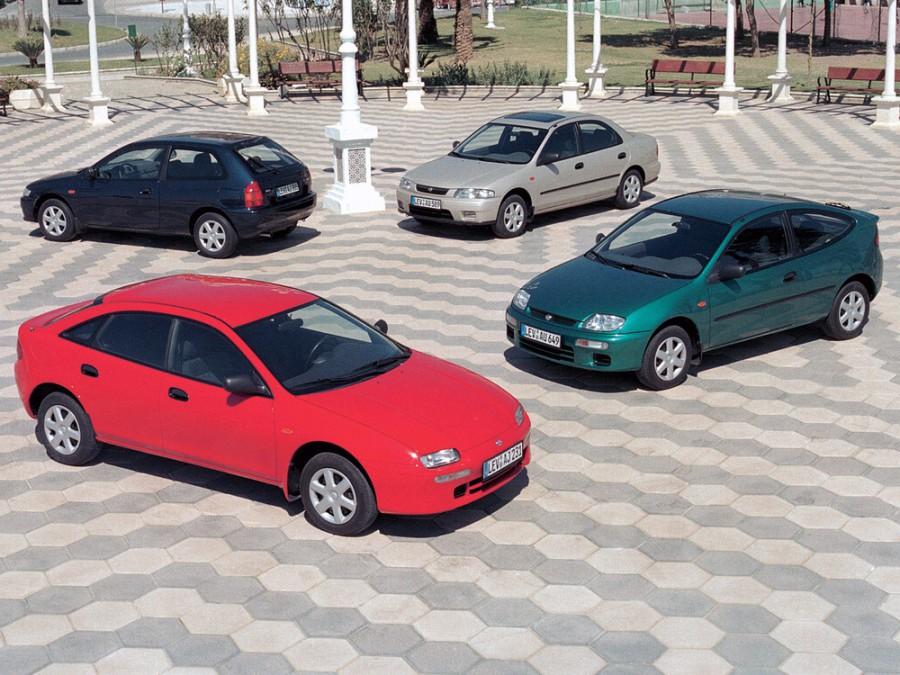 Mazda 323 седан, 1996–2016, BA [рестайлинг] - отзывы, фото и характеристики на Car.ru
