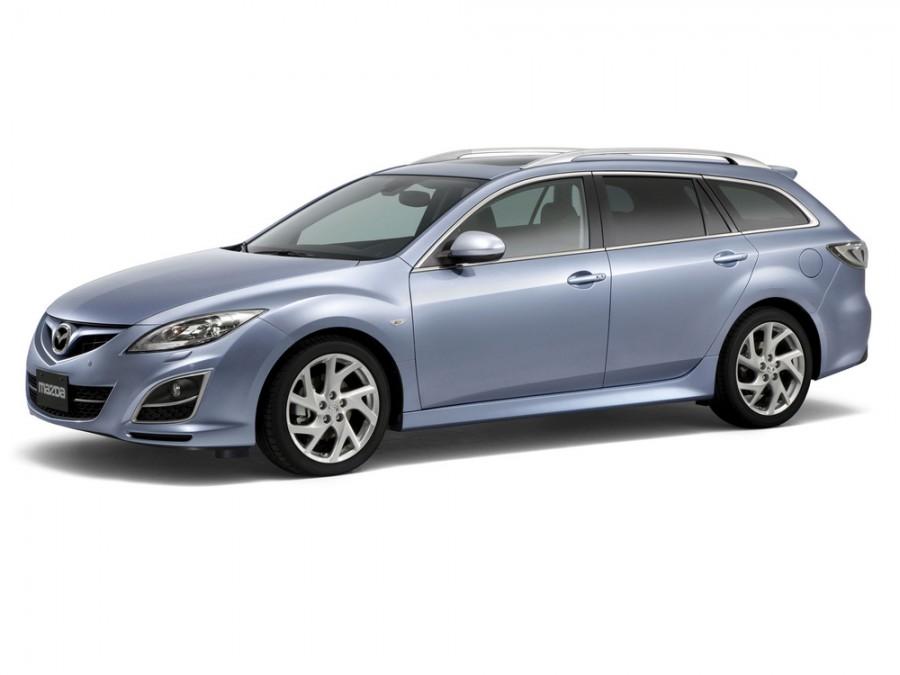 Mazda 6 универсал, 2010–2013, 2 поколение [рестайлинг] - отзывы, фото и характеристики на Car.ru