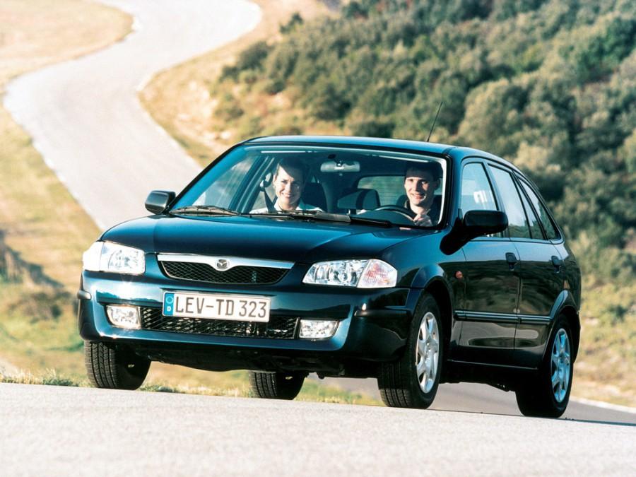 Mazda 323 хетчбэк 5-дв., 1998–2000, BJ - отзывы, фото и характеристики на Car.ru