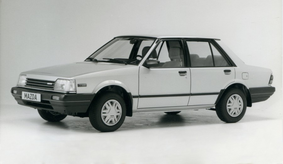 Mazda 323 седан, 1980–1986, BD - отзывы, фото и характеристики на Car.ru