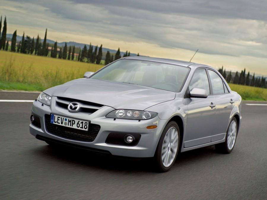 Mazda 6 MPS седан 4-дв., 2005–2007, 1 поколение [рестайлинг] - отзывы, фото и характеристики на Car.ru