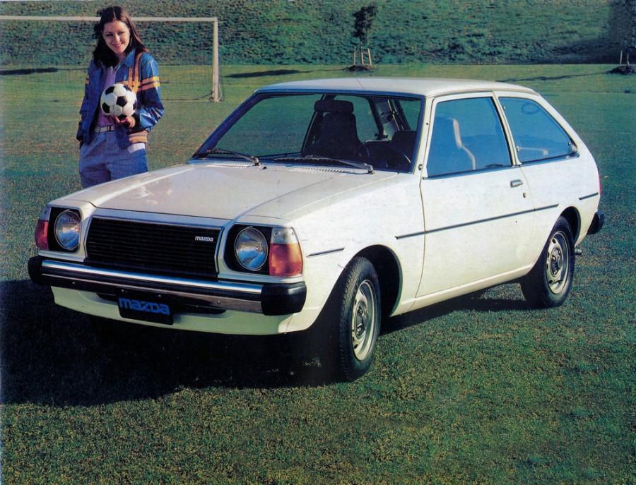 Mazda 323 хетчбэк 3-дв., 1977–1979, FA - отзывы, фото и характеристики на Car.ru