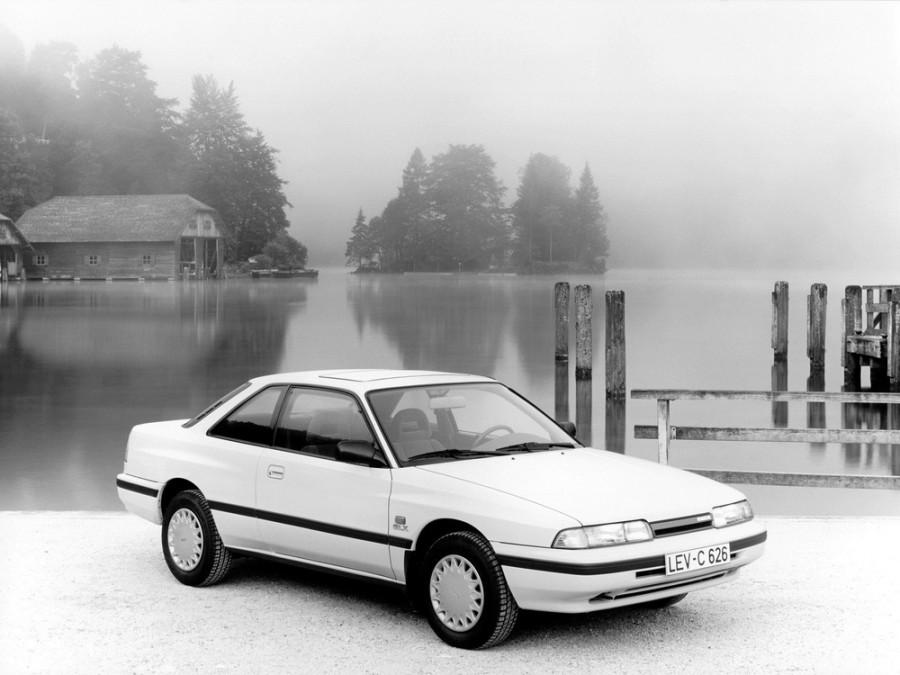 Mazda 626 купе, 1990–1996, 3 поколение [рестайлинг] - отзывы, фото и характеристики на Car.ru