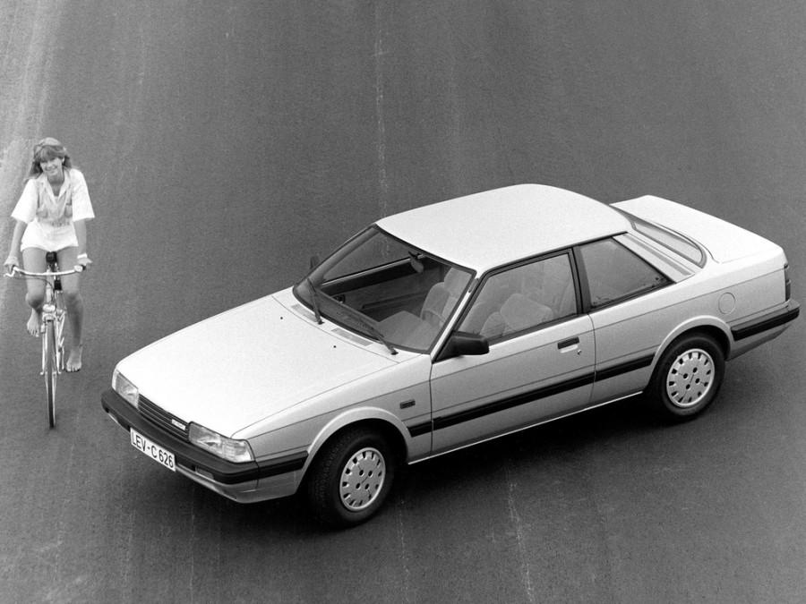 Mazda 626 купе, 1982–1987, 2 поколение - отзывы, фото и характеристики на Car.ru