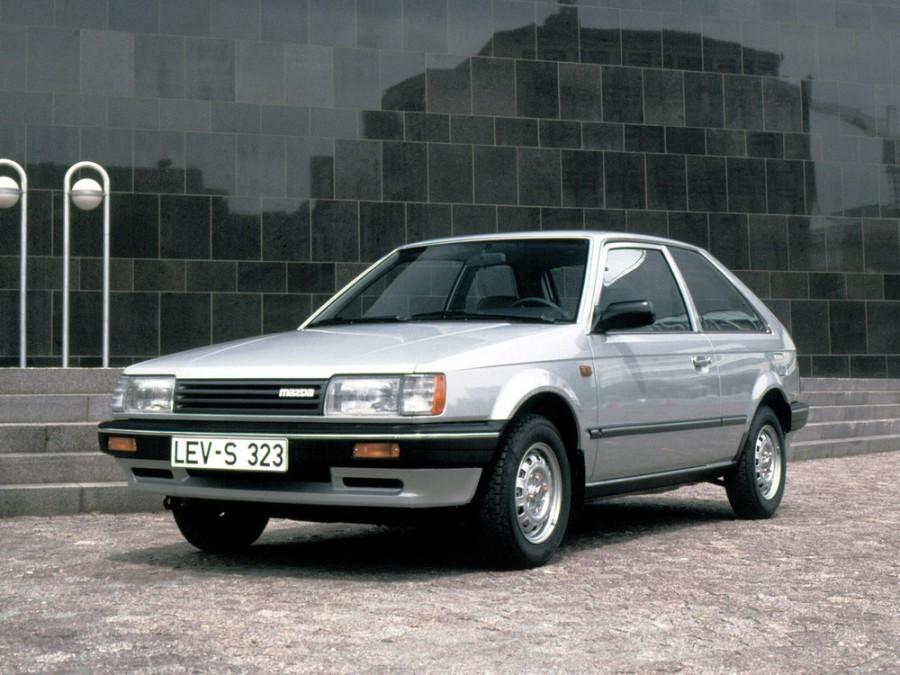 Mazda 323 хетчбэк 3-дв., 1985–1989, BF - отзывы, фото и характеристики на Car.ru