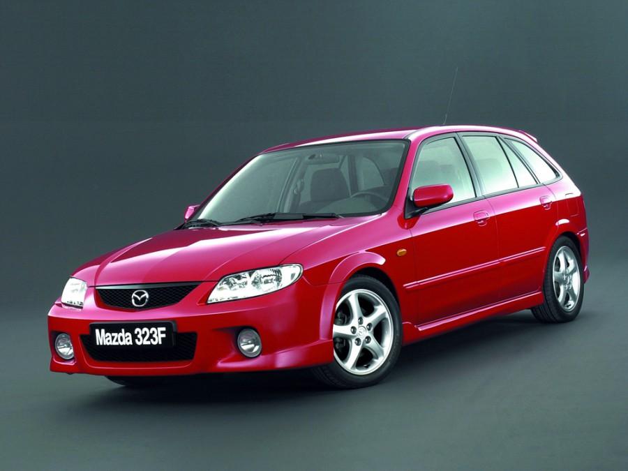 Mazda 323 хетчбэк, 2000–2003, BJ [рестайлинг], 2.0 DiTD MT (101 л.с.), характеристики
