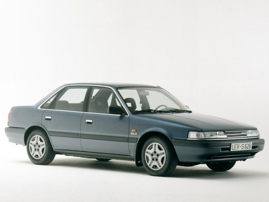 Mazda 626 седан, 1987–1992, 3 поколение - отзывы, фото и характеристики на Car.ru