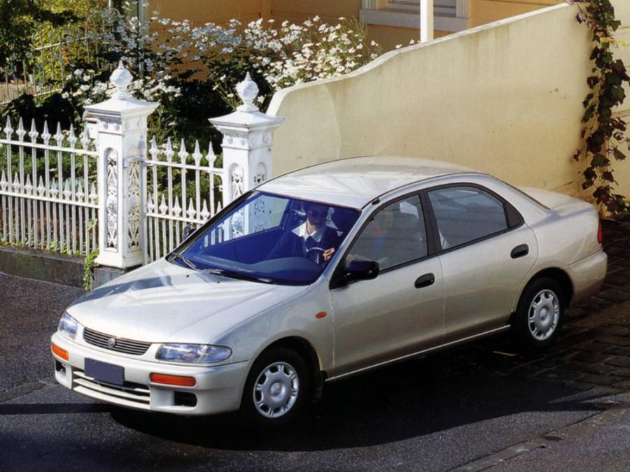 Mazda 323 седан, 1994–1998, BA - отзывы, фото и характеристики на Car.ru