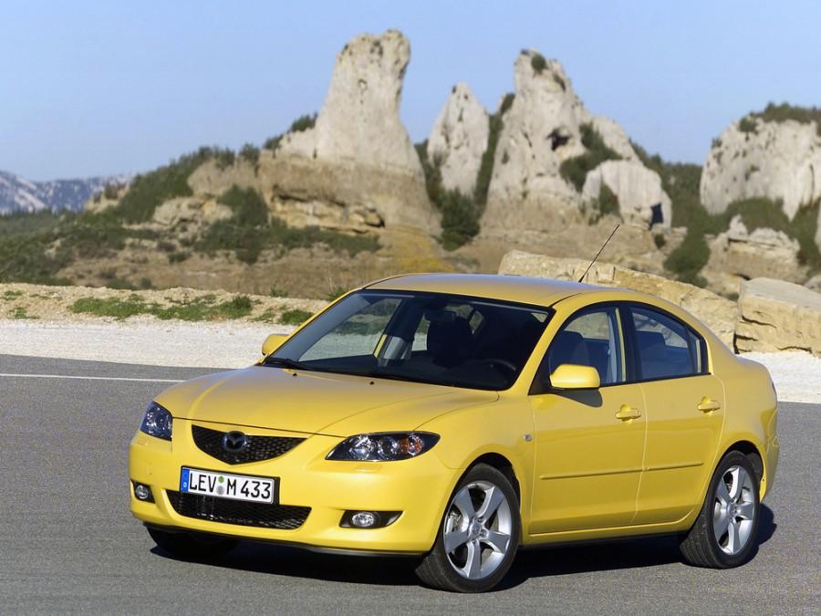 Mazda 3 седан 4-дв., 2003–2006, BK - отзывы, фото и характеристики на Car.ru