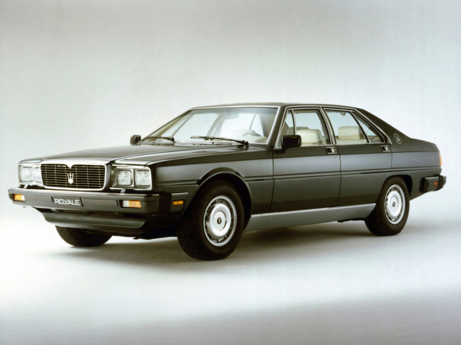 Maserati Royale седан, 1985–1993, 1 поколение - отзывы, фото и характеристики на Car.ru