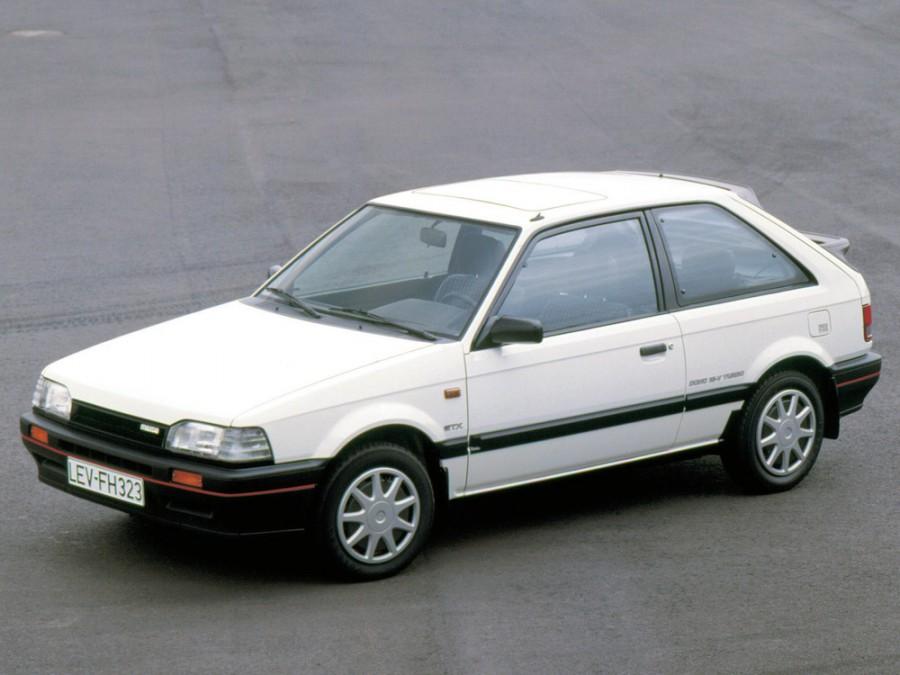 Mazda 323 хетчбэк, 1987–1993, BF [рестайлинг] - отзывы, фото и характеристики на Car.ru