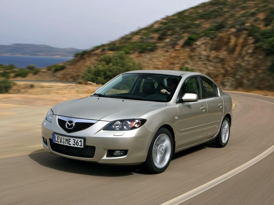 Mazda 3 седан, 2006–2016, BK [рестайлинг] - отзывы, фото и характеристики на Car.ru