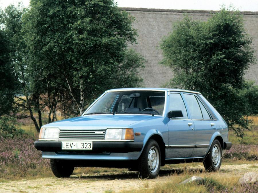 Mazda 323 хетчбэк 5-дв., 1980–1986, BD - отзывы, фото и характеристики на Car.ru