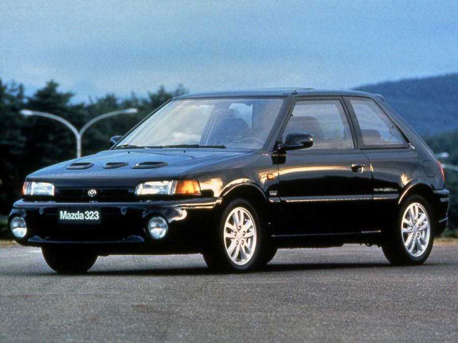Mazda 323 GT хетчбэк 3-дв., 1989–1995, BG - отзывы, фото и характеристики на Car.ru