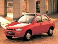 Mazda 121, 2 поколение, Седан, 1990–1996