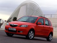 Mazda 2, 1 поколение, Хетчбэк, 2003–2005