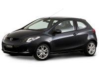 Mazda 2, 2 поколение, Хетчбэк 3-дв., 2007–2010