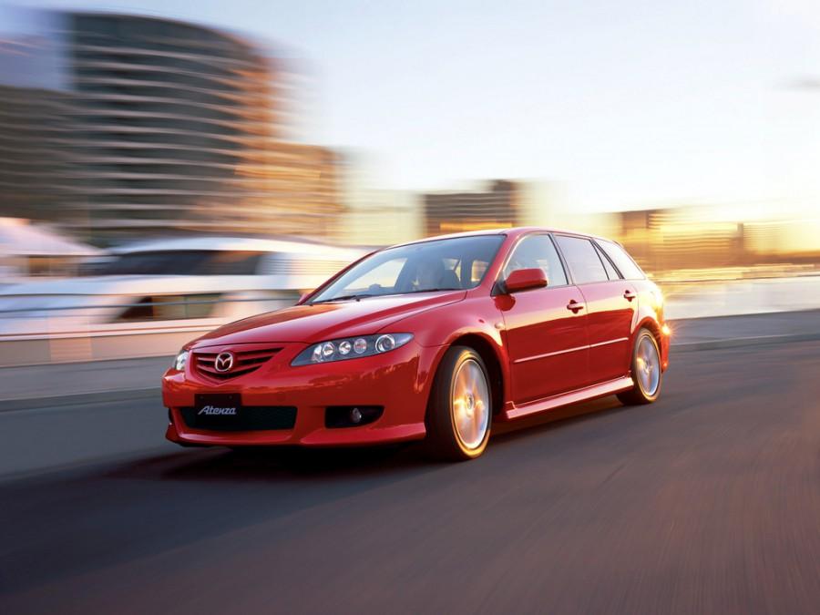Mazda Atenza универсал, 2002–2005, 1 поколение - отзывы, фото и характеристики на Car.ru