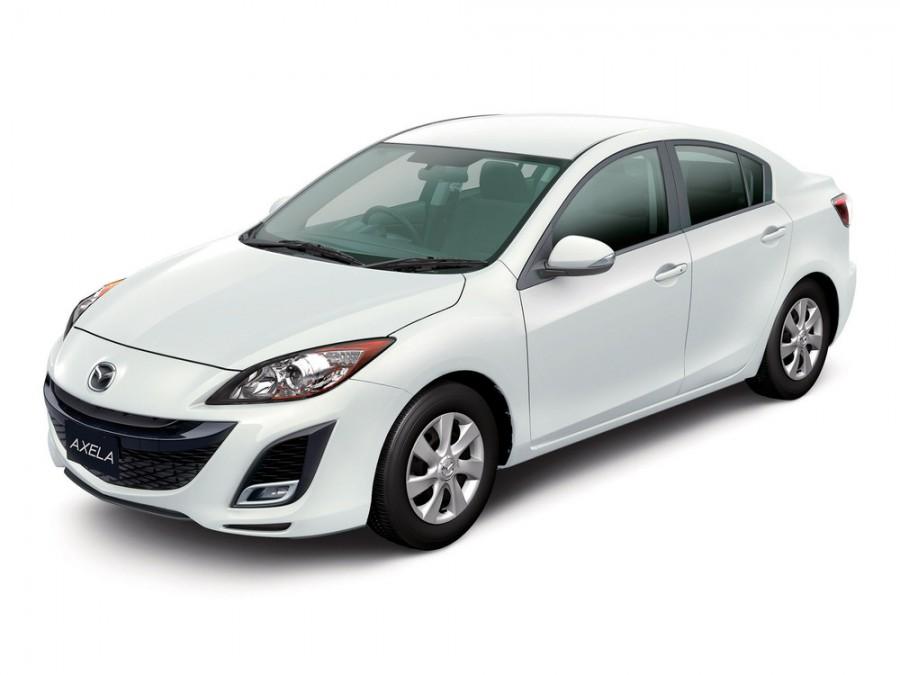 Mazda Axela седан, 2009–2012, 2 поколение - отзывы, фото и характеристики на Car.ru