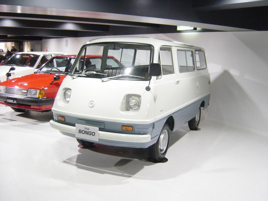 Mazda Bongo микроавтобус, 1 поколение - отзывы, фото и характеристики на Car.ru